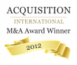 Acquisition international ma award winner 2012